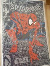Spiderman Comic1990 MCFARLANE # 1 nm/nm+ silver  bagged boarded