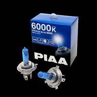 HZ501 PIAA H4 STRATOS BLUE HEADLIGHT BULBS 6000K XENON EFFECT 60/55w = 125/115w
