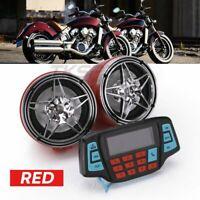 Motorcycle MP3 Speakers Motor Handlebar Audio System USB TF Bluetooth FM Radio