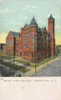 Boys' High School, Brooklyn, New York, early postcard, unused