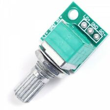 50K Sealed Dual Connection Potentiometer Two-channel Audio Input Volume Adjuster