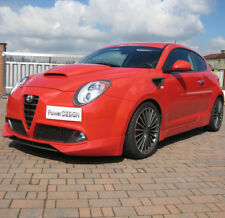 Side skirts for Alfa Romeo MITO   ABS Plastic