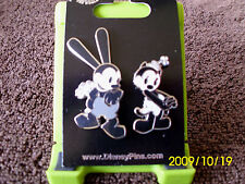 Disney * OSWALD & ORTENSIA * New on Card 2 Pin Set