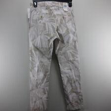 Mens Pants Casual Dress Dockers W 29 X L 32 Clean Khaki Tan White Floral NWT
