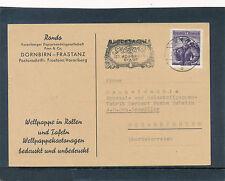Geschäfts-Postkarte 1960 aus Dornbirn-Frastanz, Rondo-Papier    21/4/15