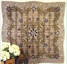 Floral Wonder - beautiful pieced & applique quilt PATTERN - Yoko Saito