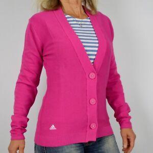 Adidas Ladies Cardigan Business Jumper Jacket Jumper Bolero Golf S M