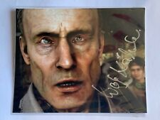 """Wolf Kahler - Metal Gear Solid Autograph - 10"""" x 8"""" Mounted"""