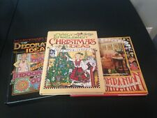 Lot of 3 Hardcover Mary Englebreit Books Decorating Christmas Home Companion