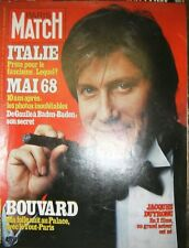 Paris Match N° 1510 5 mai 1978 Jacques Dutronc Bouvard Mai 1968 Italie