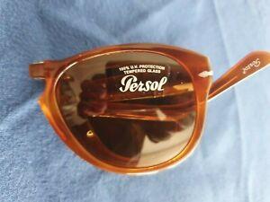 Original  PERSOL   714   Sonnenbrille  Sunglasses  fallt Brille  Terra di Siena
