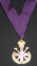 Red Cross of Constantine MWS Collarette & Jewel (Free Delivery)