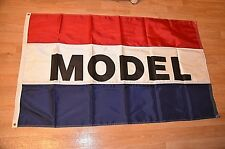3X5 MODEL FLAG Real Estate Banner Sign NEW Home Builder Advertising HEAVY DUTY