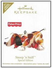 2011 Hallmark Fisher Price Snoop and Sniff Dog Limited Quantity Ornament!