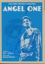 Star Trek TNG Portfolio Prints Series 2 Ortiz Signed Base Card #14 Angel One