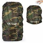 Waterproof OUTAD Rain Resistant Cover Durable Camping Backpack Rucksack Bag gf