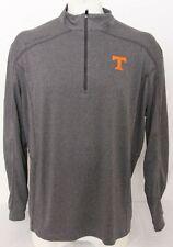 NEW Tennessee Vols Gray Columbia Golf Omni-Wick Shotgun 1/4 Zip Shirt Men's L