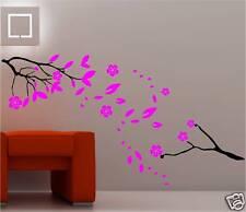 FLORAL BLOSSOM CHERRY PLUM TREE wall art sticker vinyl