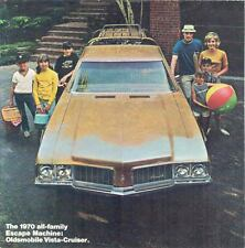 1970 Oldsmobile Vista Cruiser Station Wagon Brochure mx746-G7QU5B