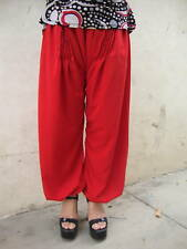RED colour PATHANI PAJAMA HAREM PANTS from Patiala