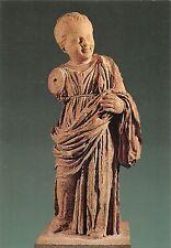 BR86458 museum of delphi statue of a little girl postcard sculpture greece