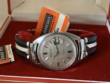 Vintage Girard Perregaux Gyromatic Chronometer Automatic SS Box Paper Orig Cro