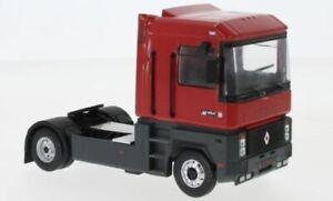 IXO MODEL TRUCKS RENAULT MAGNUM AE420 TI 4X2 CAB UNIT RED 1992 1-43 SCALE TR066