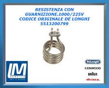 RESISTENZA CON GUARNIZIONE.1000/225V 5513200799 DE LONGHI ORIGINALE