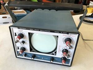 Heathkit 10-4550 Dual Trace Oscilloscope Vintage