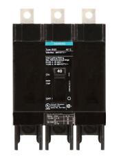 BQD340 - Siemens 40 Amp 3 Pole 480 Volt Bolt-On Molded Case Circuit Breaker