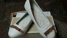 Girls Size 4 MICHAEL KORS Fulton Kris DD Dress Shoes Cream NIB