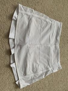 White Lululemon Size 4 Tall Skirt