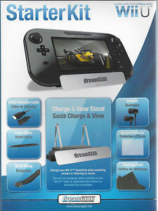 DREAMGEAR 7-In-1 Essentials Starter Kit (Wii U)