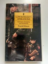 Rare 1st Edition Paperback - Low Intensity Operations Frank Kitson