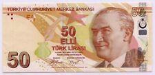 More details for turkey 50 lira 2009 unc