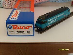 ROCO  SBB  RE 460  ELECTRIC  LOCO  DCC READY