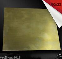 1pcs Brass Metal Sheet Plate 1.5mm x 100mm x 100mm