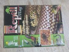 $$ Revue Reptil mag N°3 Serpent roi  Litoria Caerulea  Guyane francaise  Crawl C