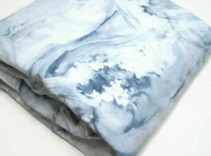 Pottery Barn Blue Water Colors Ocean Stinson Wave King Cal King Duvet Cover