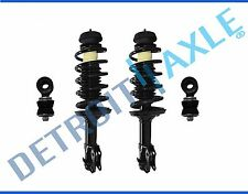 NEW 4pc Complete Front Quick Strut w/ Spring & Mounts + Sway Bars for Golf Jetta