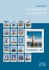 Oostenrijk 2016  Vuurtorens  20 zegels    postfris (MNH)