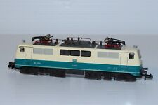 N Gauge Fleischmann DB BR111 Blue & Cream --- Boxed 7348
