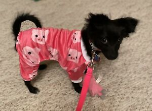 BARELY USED CuteBone  Pink Piggie Jumpsuit Pajamas.  Size Small