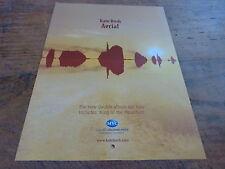KATE BUSH - Publicité de magazine / Advert AERIAL !!!!!!!!!
