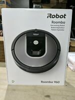 iRobot Roomba 960 Black/Silver Robotic Vacuum   Cleaner