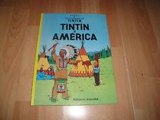 TINTIN A AMERICA LES AVENTURES DE TINTIN 20ª VINTENA EDICIO EN CATALA NOU NUEVO