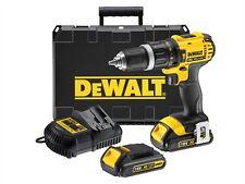 Dewalt 18v XR Compact Combi Hammer Drill Driver 2 x 1.5Ah Li-Ion Kitbox DCD785C2