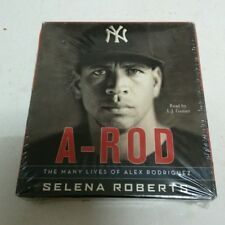 A-ROD ALEX RODRIGUEZ - SELENA ROBERTS (AUDIO BOOK CD)
