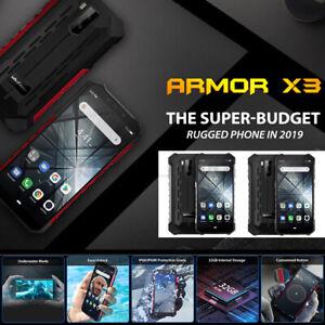 Ulefone ARMOR X3 IP68 IP69K 5.5 Inch Android 9.0 2GB 32GB Quad core