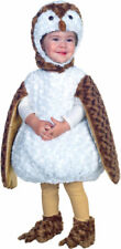 Morris Costumes Girls Fur Owl Toddler Complete Outfit White 2T-4T. UR26077TLG